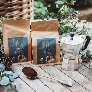 Coffee and coffee pot Christmas combo