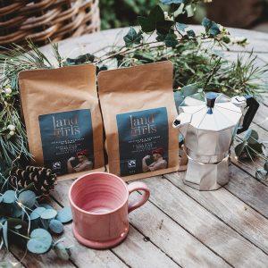 Luxury coffee, coffee pot and mug gift pack