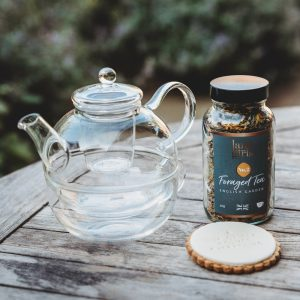 Tea for one and a biscuit gift set
