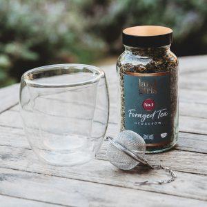 Tea & Glass gift set