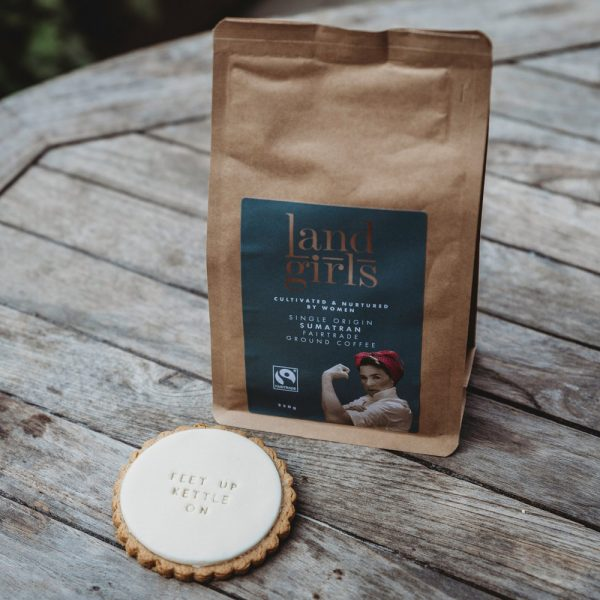 Coffee and biscuit gift set