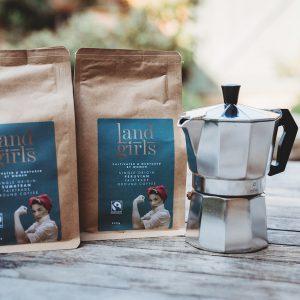 Coffee and coffee pot gift set